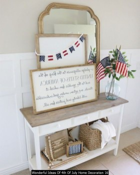 Wonderful Ideas Of 4th Of July Home Decoration 16