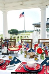 Wonderful Ideas Of 4th Of July Home Decoration 21