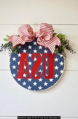 Wonderful Ideas Of 4th Of July Home Decoration 24