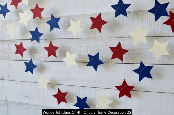 Wonderful Ideas Of 4th Of July Home Decoration 25