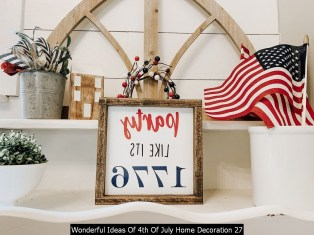 Wonderful Ideas Of 4th Of July Home Decoration 27
