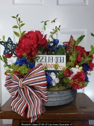 Wonderful Ideas Of 4th Of July Home Decoration 47