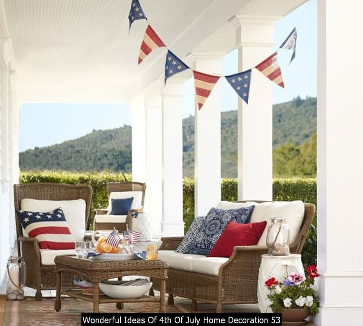 Wonderful Ideas Of 4th Of July Home Decoration 53