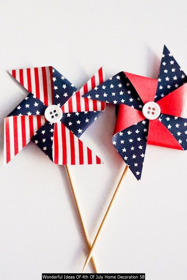 Wonderful Ideas Of 4th Of July Home Decoration 58