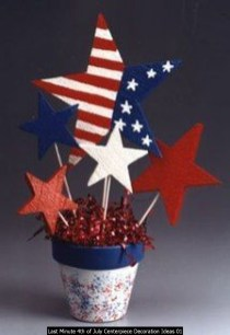 Last Minute 4th Of July Centerpiece Decoration Ideas 01