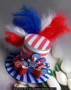 Last Minute 4th Of July Centerpiece Decoration Ideas 05