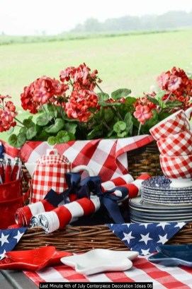 Last Minute 4th Of July Centerpiece Decoration Ideas 06