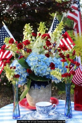 Last Minute 4th Of July Centerpiece Decoration Ideas 08
