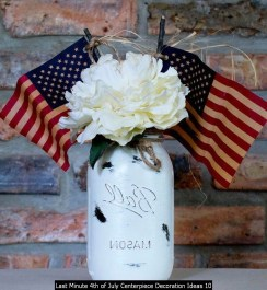Last Minute 4th Of July Centerpiece Decoration Ideas 10