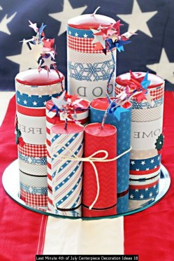 Last Minute 4th Of July Centerpiece Decoration Ideas 18