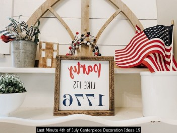 Last Minute 4th Of July Centerpiece Decoration Ideas 19