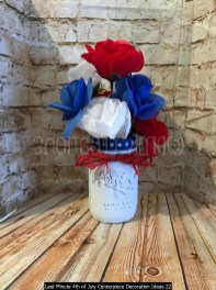 Last Minute 4th Of July Centerpiece Decoration Ideas 22