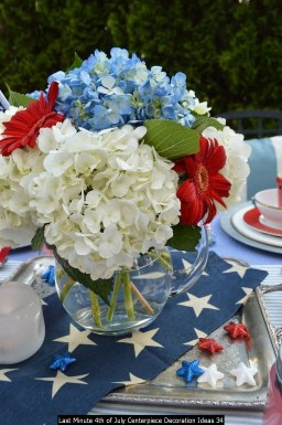 Last Minute 4th Of July Centerpiece Decoration Ideas 34