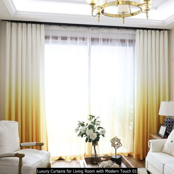 Luxury Curtains For Living Room With Modern Touch 01