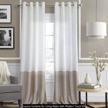 Luxury Curtains For Living Room With Modern Touch 03