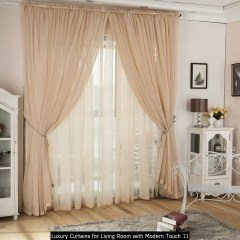 Luxury Curtains For Living Room With Modern Touch 11
