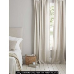Luxury Curtains For Living Room With Modern Touch 13