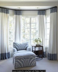 Luxury Curtains For Living Room With Modern Touch 18