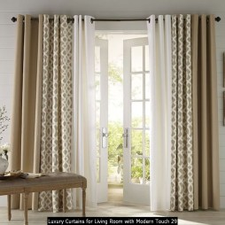 Luxury Curtains For Living Room With Modern Touch 29