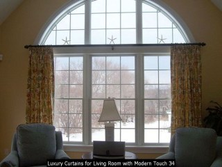 Luxury Curtains For Living Room With Modern Touch 34