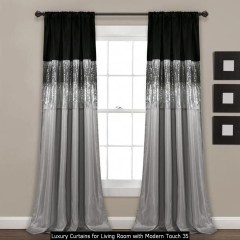 Luxury Curtains For Living Room With Modern Touch 35