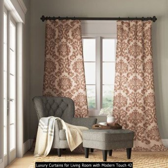 Luxury Curtains For Living Room With Modern Touch 42