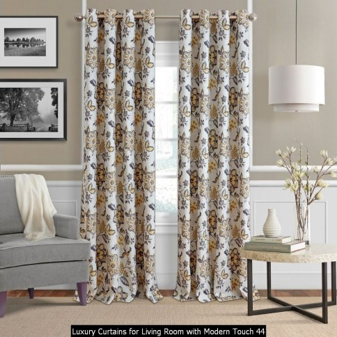 Luxury Curtains For Living Room With Modern Touch 44