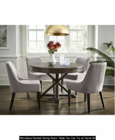 Marvelous Painted Dining Room Table You Can Try At Home 04