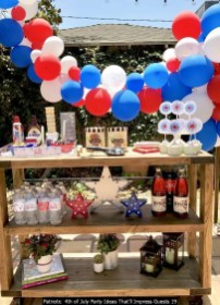 Patriotic 4th Of July Party Ideas That'll Impress Guests 19