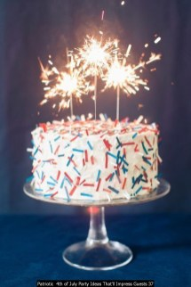 Patriotic 4th Of July Party Ideas That'll Impress Guests 37