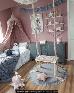 Unordinary Bedroom Design Ideas For Teenage Girl 04