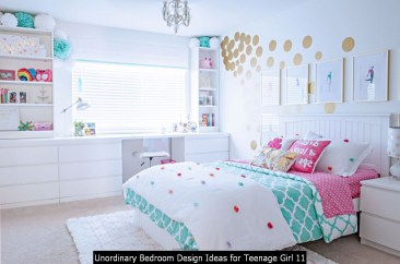 Unordinary Bedroom Design Ideas For Teenage Girl 11