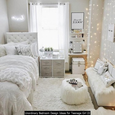 Unordinary Bedroom Design Ideas For Teenage Girl 22