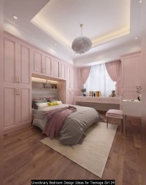 Unordinary Bedroom Design Ideas For Teenage Girl 24