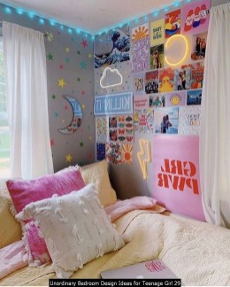 Unordinary Bedroom Design Ideas For Teenage Girl 29