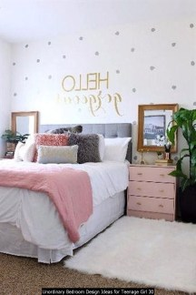Unordinary Bedroom Design Ideas For Teenage Girl 30