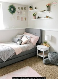 Unordinary Bedroom Design Ideas For Teenage Girl 36