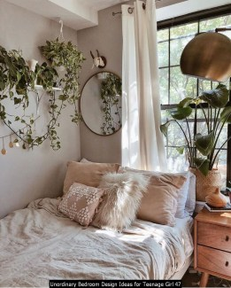 Unordinary Bedroom Design Ideas For Teenage Girl 47