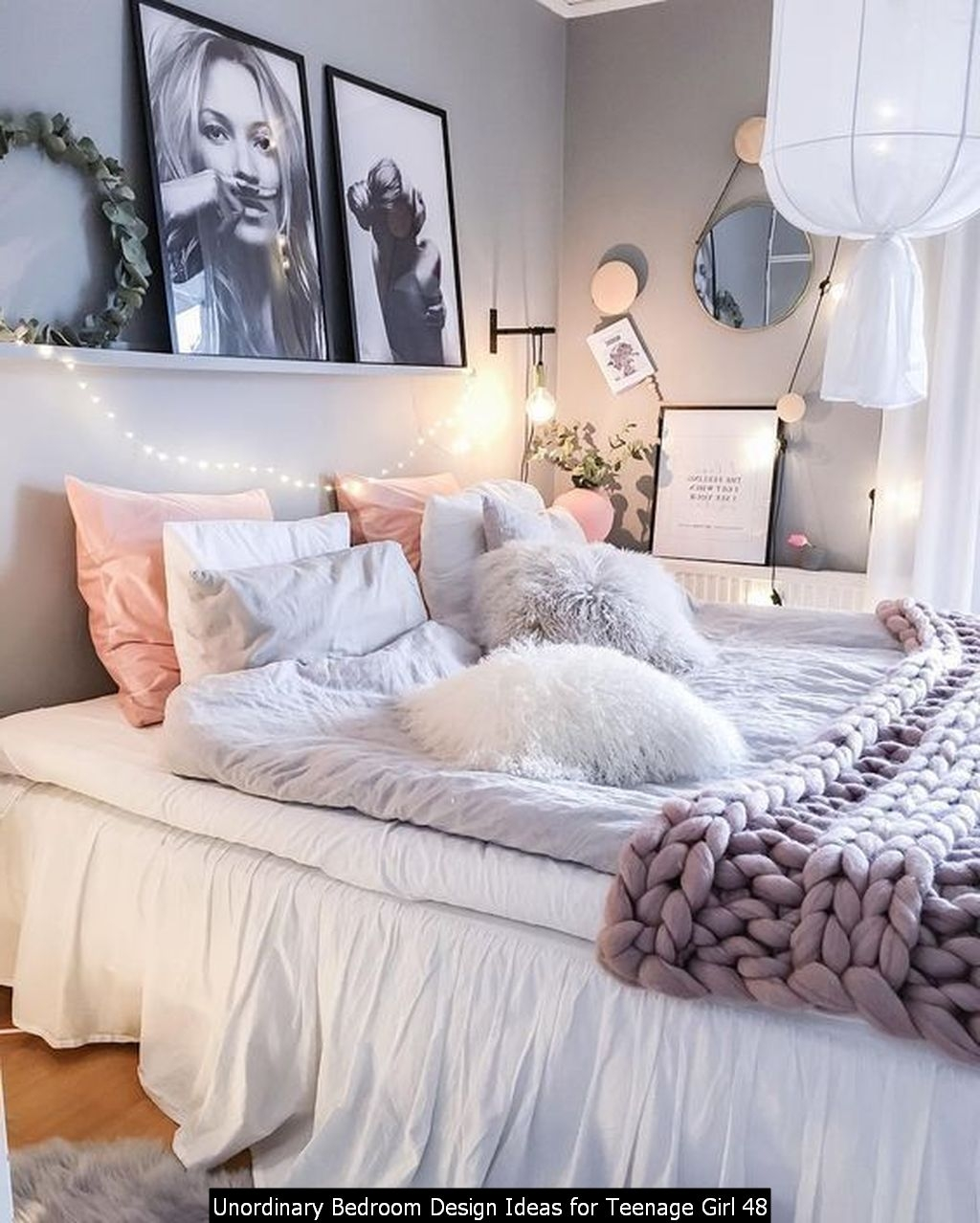 Unordinary Bedroom Design Ideas For Teenage Girl 48
