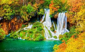 Credits. Plitvice by Rognar/123rf photography