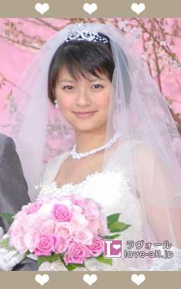 榮倉奈々 ウエディングドレス