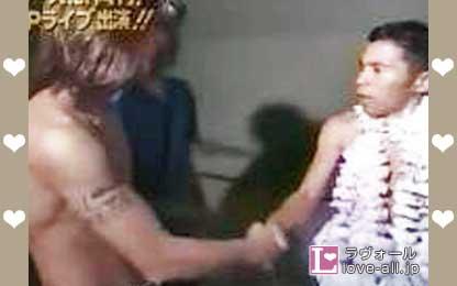 木村拓哉 めちゃ×2イケてるッ! 岡村隆史 握手 腕 タトゥー