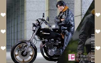 高橋克典 バイク