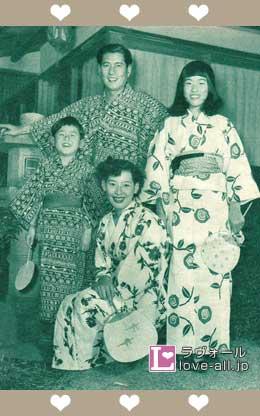 関口宏 家族写真