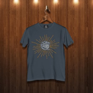 Life is better laughing blue dusk tshirt
