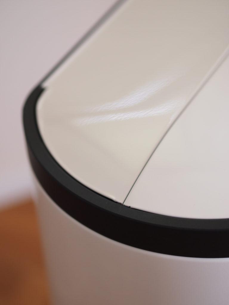simple human シンプルヒューマン バタフライカン ホワイト 30L シンプル ごみばこ