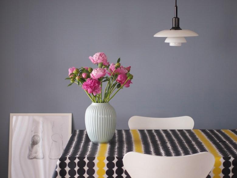 Kahler/ケーラーHammershøi/ハンマースホイ フラワーベース おしゃれ 北欧 花瓶 シンプル