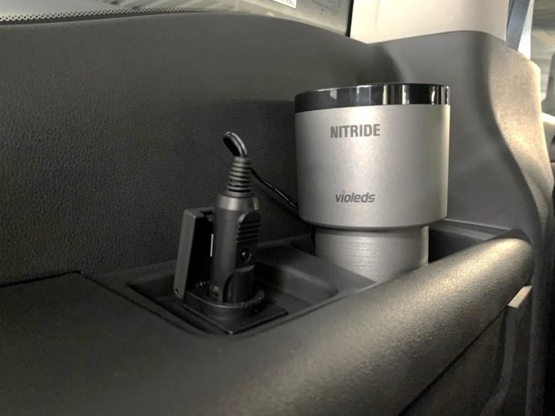 消臭 臭い 消す 新車の匂い 殺菌 空気清浄機 コンパクト ポータブル 車 We LOVE Design