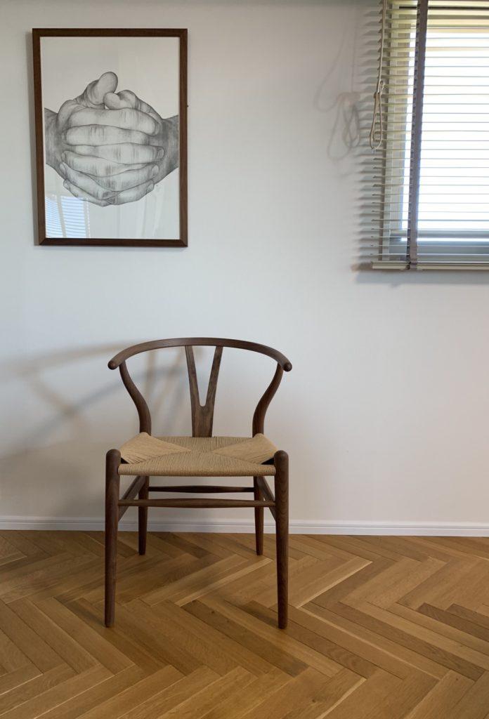 We LOVE Design 北欧 おしゃれ かっこいい シンプル 暮らし 椅子 チェア Yチェア CARL HANSEN & SON カールハンセン&サン ハンス・J・ウェグナー CH24