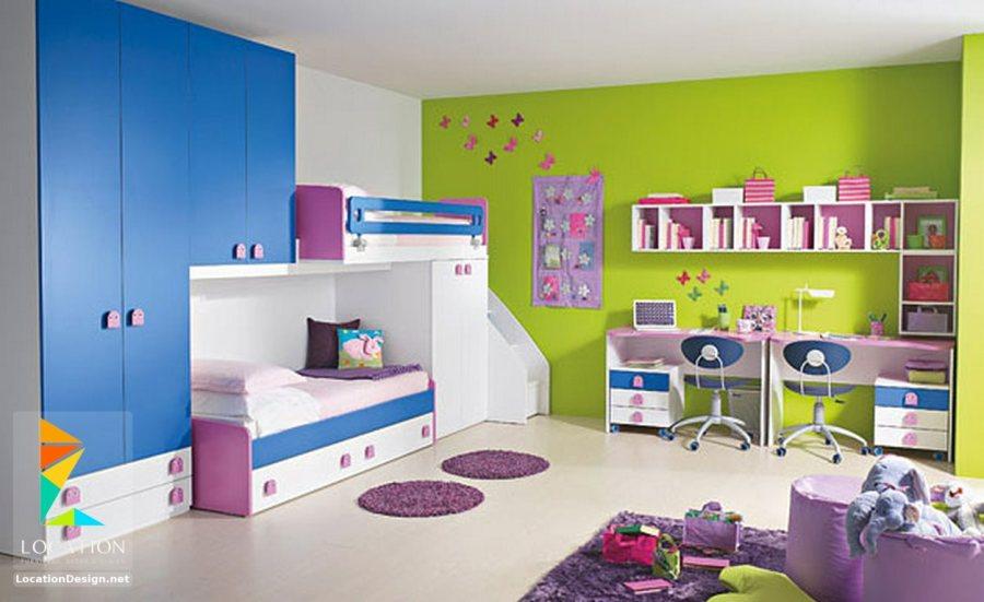 دهانات غرف نوم اطفال الوان حائط رائعه صور حب